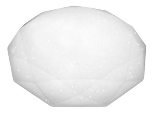 Светильник св/д накл. Almaz R 60Вт звездное небо с пультом 580247